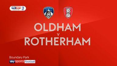 Oldham 1-1 Rotherham