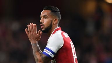 Allardyce confirms Walcott talks underway