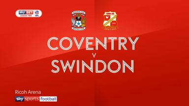 Coventry 3-1 Swindon