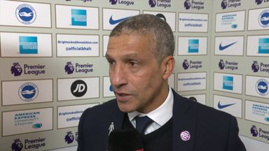 Hughton disappointed by refereeing decisions
