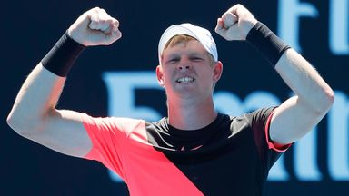 Edmund battles through heatwave