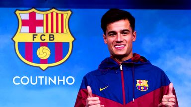 Coutinho completes Barca move