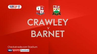 Crawley 2-0 Barnet