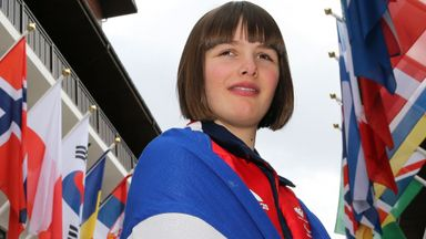 Millie going for gold