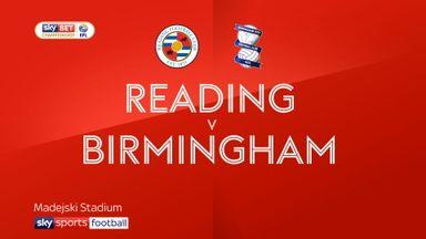 Reading 0-2 Birmingham