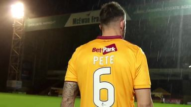 Motherwell mock Utd's Sanchez video