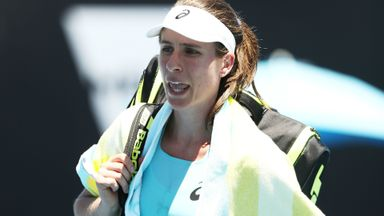 Konta suffers shock defeat
