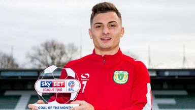 Khan wins League Two GOTM