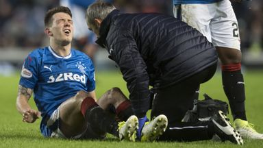 Jack injury blow for Rangers