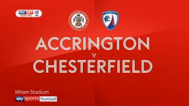 Accrington 4-0 Chesterfield