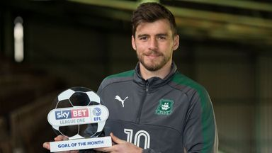 Carey wins League One GOTM
