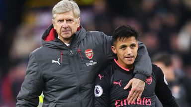 Wenger unsure on Sanchez future
