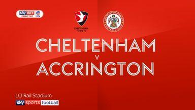 Cheltenham 0-2 Accrington