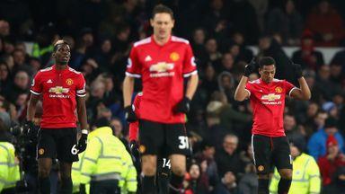 Everton 0-2 Manchester Utd