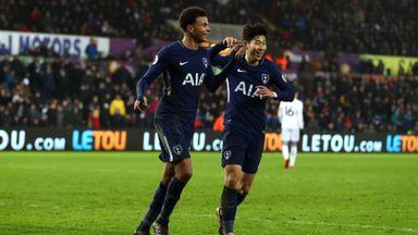 Swansea 0-2 Tottenham