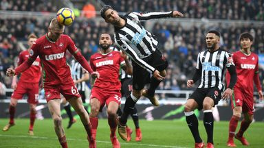 Newcastle 1-1 Swansea