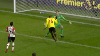 Watford score controversial equaliser