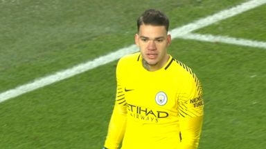 Ederson's costly mistake