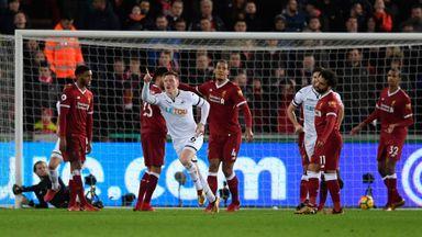 Swansea 1-0 Liverpool