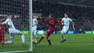 Liverpool's late costly miss