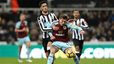 Newcastle 1-1 Burnley