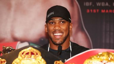 AJ welcomes Fury walk with Parker