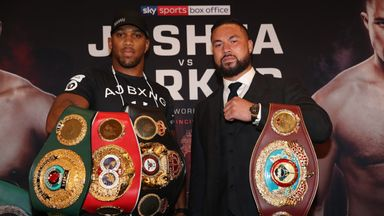 Parker 'over the moon' with AJ fight