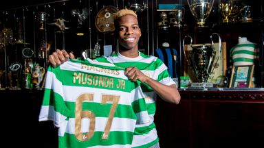Musonda wants to enjoy Celtic loan