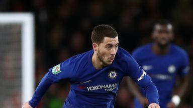 Hazard 'one of the greats'
