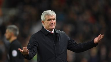 Hughes hits back at Stoke owners
