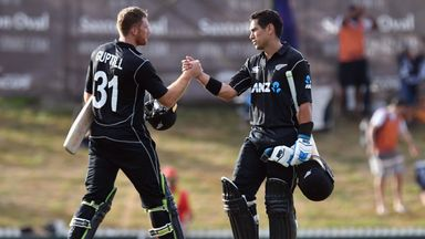 NZ v Pakistan: 2nd ODI highlights