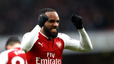 Lacazette back amongst the goals