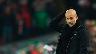 Pep stays quiet over transfers