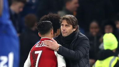 Conte unsure over Sanchez pursuit
