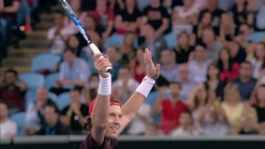 Berdych wins Tie Break Tens