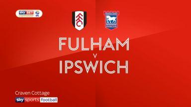 Fulham 4-1 Ipswich