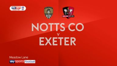 Notts County 1-2 Exeter