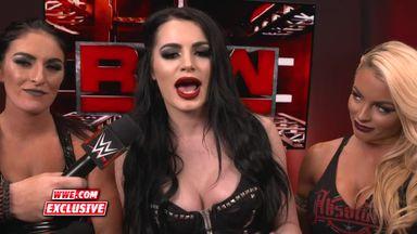 Paige addresses her neck injury