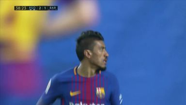 Paulinho scores again for Barca
