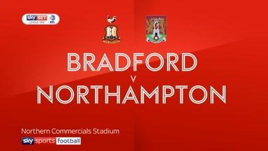 Bradford 1-2 Northampton