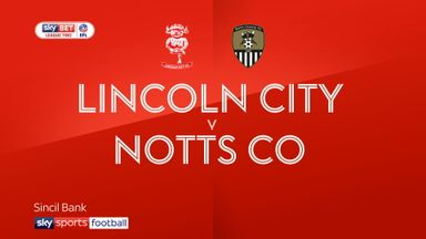 Lincoln City 2-2 Notts County