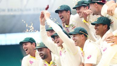 Warner: You've got to celebrate wins