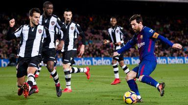 Barcelona 3-0 Levante