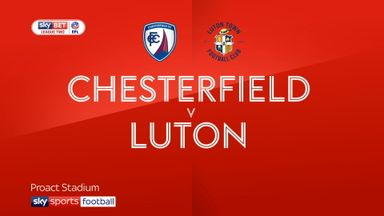 Chesterfield 2-0 Luton