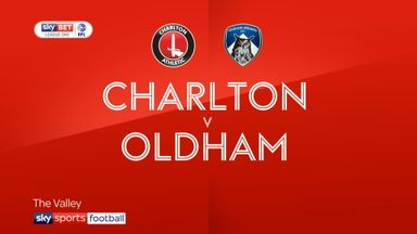 Charlton 1-0 Oldham