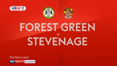 Forest Green 3-1 Stevenage