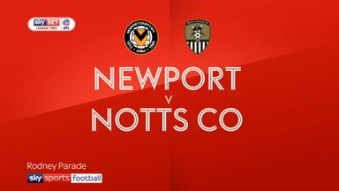 Newport 0-0 Notts County