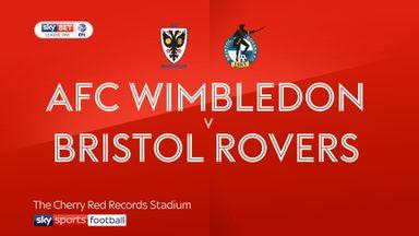 AFC Wimbledon 1-0 Bristol Rovers