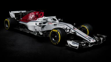 Sauber reveal their 2018 C37