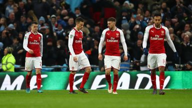Angry Neville on 'spineless' Arsenal